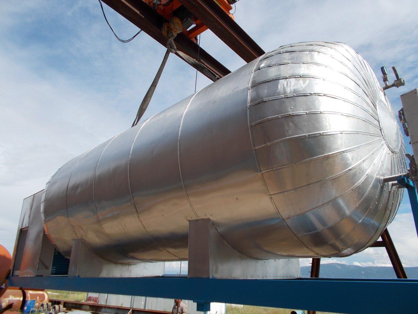 Karbondioksit Tank